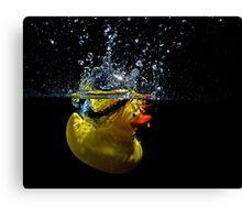 Ducky Splash Canvas Print
