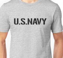 United States Navy, Full Size Version Unisex T-Shirt