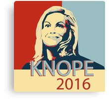 knope 2016 Canvas Print
