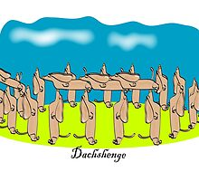 Icons of Earth: Dachshenge by Diana-Lee Saville