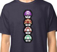 Mushroom Faces Classic T-Shirt