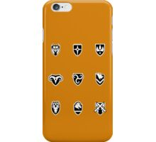 Skyrim cities iPhone Case/Skin