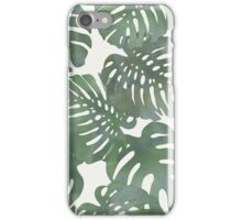 Tropical Leave pattern 1` iPhone Case/Skin