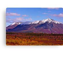 Broad Pass Autumn Canvas Print