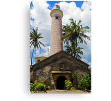 Galle Lighthouse. Canvas Print