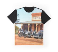 Donkey's dilemma: two wheels or four? Graphic T-Shirt