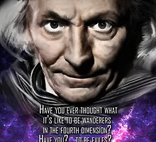 Doctor Who William Hartnell Digital Painting / First Doctor by verypeculiar