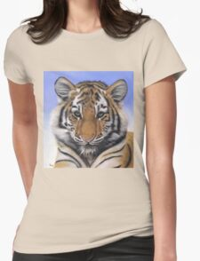 Little Big Cat by Karie-Ann Cooper Womens Fitted T-Shirt