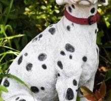 Garden Dalmatian Sticker
