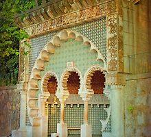 Sintra mourisca. moorish sintra fountain. by terezadelpilar~ art & architecture
