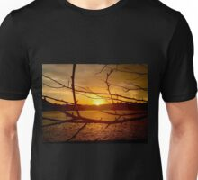 Branches in Sunset Unisex T-Shirt