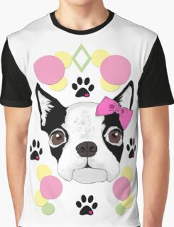 Terrier Of Diamonds Graphic T-Shirt