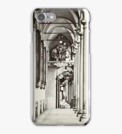 Arcades of Bologna, Italy iPhone Case/Skin