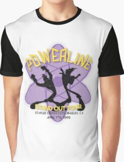 Vintage Powerline Concert Logo - A Goofy Movie Graphic T-Shirt