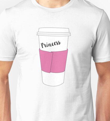 Princess Coffee Unisex T-Shirt
