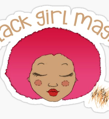 Black Girl Magic - Sticker 01 Sticker