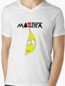 Sad Bananay Mens V-Neck T-Shirt