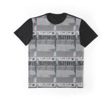 A Con A Ley Broken Sign Graphic T-Shirt