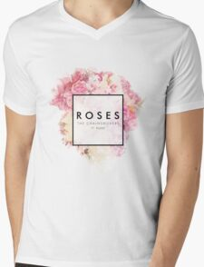 roses Mens V-Neck T-Shirt