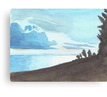 Eerie Waters  Canvas Print