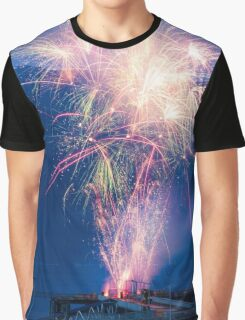 Haines Fireworks Graphic T-Shirt