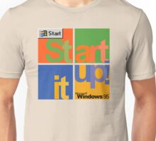Start It Up! - Microsoft Windows 95 Unisex T-Shirt
