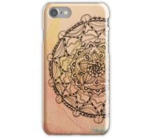 Mandala on Fire iPhone Case/Skin