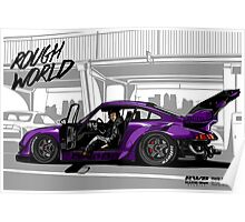ROUGH WORLD - RWB Rotana  Poster