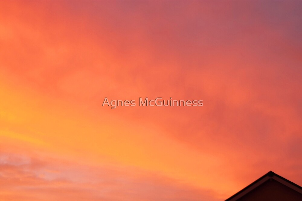 June sunset by Agnes McGuinness