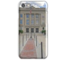 Brown County, Courthouse iPhone Case/Skin