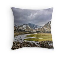Hartsop Valley Views Throw Pillow
