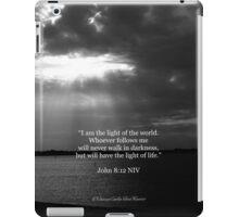 John 8:12 iPad Case/Skin