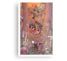 The Rock on Monster Island Metal Print