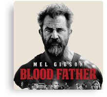 mel gibson blood father Canvas Print