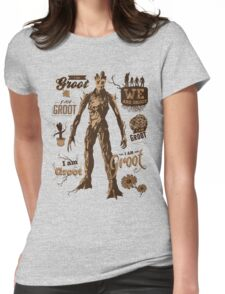 Guess Who I Am Womens Fitted T-Shirt