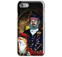 The Chieftain and His Cat iPhone Case/Skin