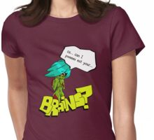 Shy Zombie Womens Fitted T-Shirt