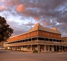 The Palace Hotel, Broken Hill, NSW by Christine Smith