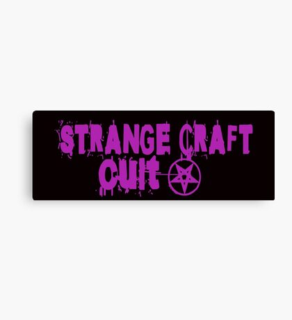 Strange Craft Cult Canvas Print