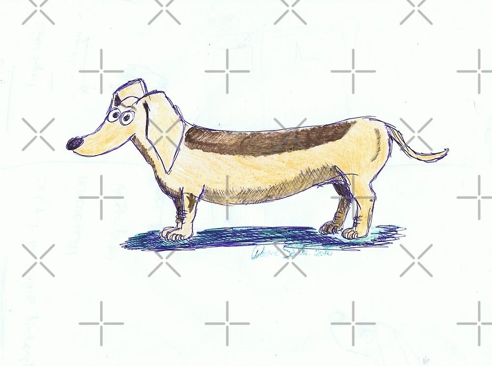 A doodle dog by Diana-Lee Saville