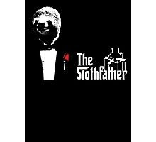 Sloth - The Slothfather godfather parody mashup Photographic Print