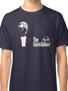 Sloth - The Slothfather godfather parody mashup Classic T-Shirt