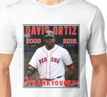 Red Sox #THANKYOUPAPI 34 - David Ortiz Unisex T-Shirt