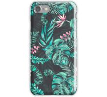 Tropical Leave pattern 2 iPhone Case/Skin