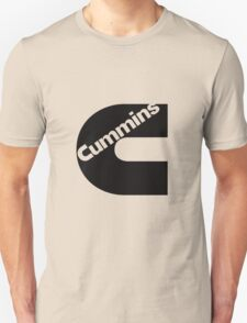 Cummins Black Logo Unisex T-Shirt