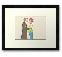 Remus and Tonks Framed Print