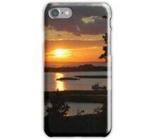 Vineyard Sunset iPhone Case/Skin