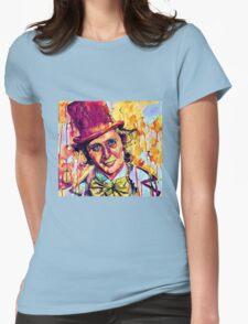 Willy Wonka - Gene Wilder Womens Fitted T-Shirt