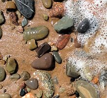 Inverness beach stones by hankierat
