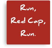 Red Cap I Canvas Print